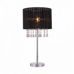 LETA LAMPA STOŁOWA, RLT93350-1B, LAMPA STOŁOWA ZUMA LINE, CZARNA LAMPA STOŁOWA, CZARNE LAMPKI NOCNE, DEKORPLANET, CZARNE LAMPY