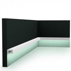 LISTWY ŚCIENNE LED, CX190 ORAC DECOR, LISTWA ŚCIENNA LED, LISTWY NA ŚCIANĘ LED, NOWOCZESNE LISTWY OŚWIETLENIOWE ŚCIENNE, LISTWY