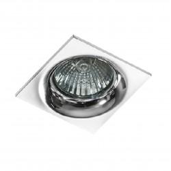 Lampa IVO SQUARE 1 GM21001S white / aluminium IP20 Azzardo