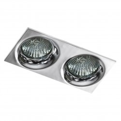 Lampa IVO SQUARE 2 GM22002S Chrome / aluminium IP20 Azzardo