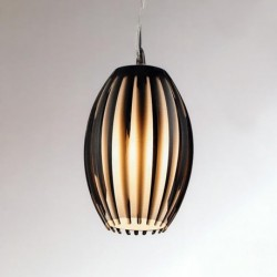 Lampa ELBA pendant V 1122M chrome/brown/ white meta Azzardo